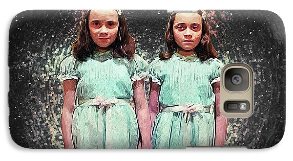 Come Play With Us - The Shining Twins Galaxy S7 Case by Taylan Apukovska