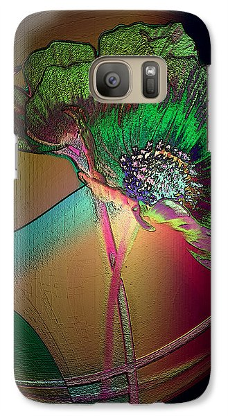 Galaxy Case featuring the photograph Comely Cosmos by Irma BACKELANT GALLERIES