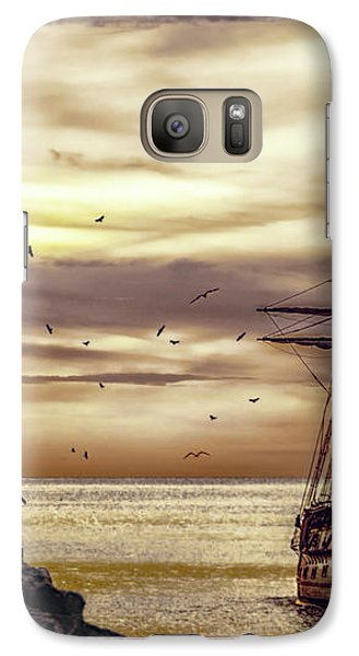 Galaxy Case featuring the photograph Coming Home by Diane Schuster