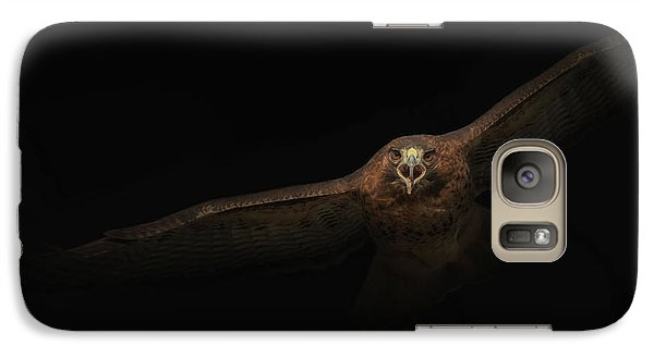Galaxy Case featuring the photograph Coming Out Of The Dark by Angie Vogel