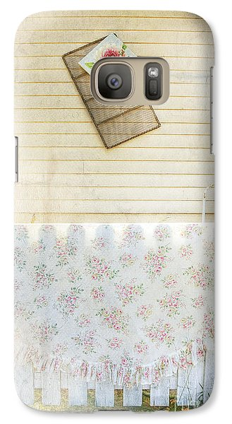 Galaxy Case featuring the photograph Coming Up Roses by Craig J Satterlee