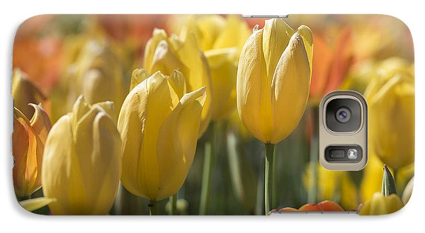 Coming Up Tulips Galaxy S7 Case