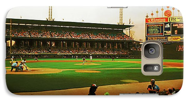 Galaxy Case featuring the photograph Comiskey Park  by Tom Jelen