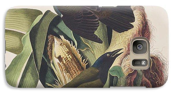 Common Crow Galaxy Case by John James Audubon