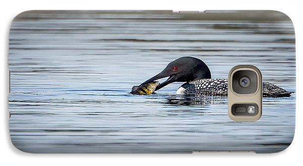 Common Loon Galaxy S7 Case by Bill Wakeley