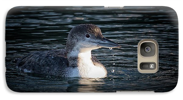 Galaxy Case featuring the photograph Common Loon by Randy Hall