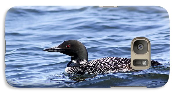 Common Loon Galaxy S7 Case by Teresa Zieba