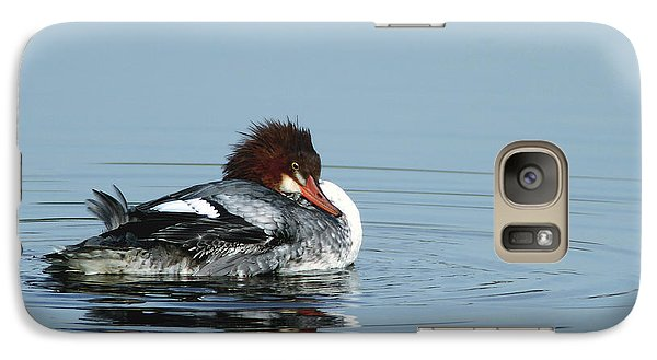 Common Merganser Galaxy S7 Case