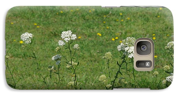 Galaxy Case featuring the photograph Common Yarrow by Robyn Stacey