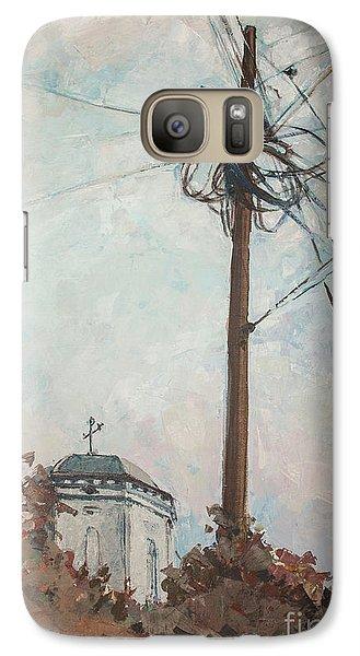Galaxy Case featuring the painting Communication by Olimpia - Hinamatsuri Barbu