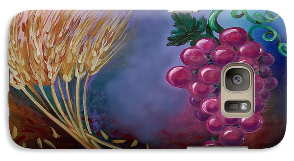 Galaxy Case featuring the painting Communion by Kevin Middleton