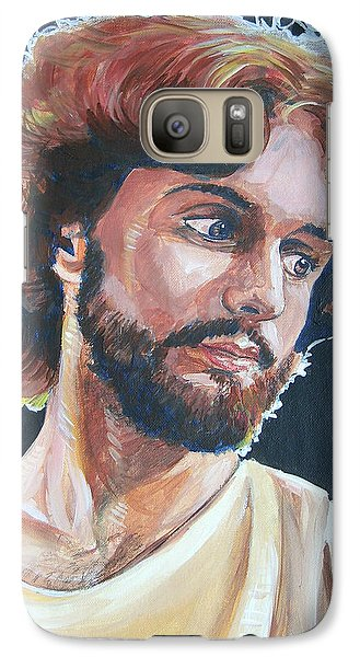Galaxy Case featuring the painting Compassionate Christ by Bryan Bustard