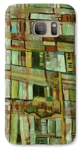 Galaxy Case featuring the painting Condo by Paul McKey
