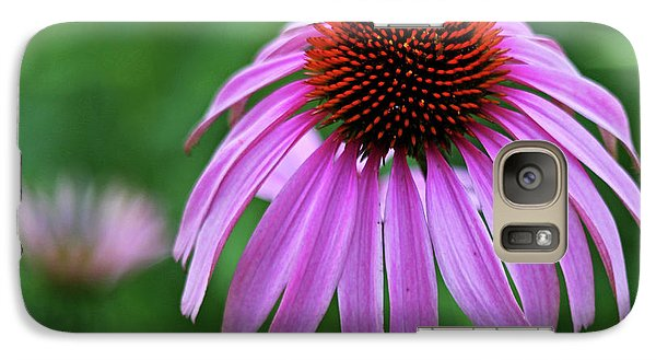 Galaxy Case featuring the photograph Coneflower by Judy Vincent