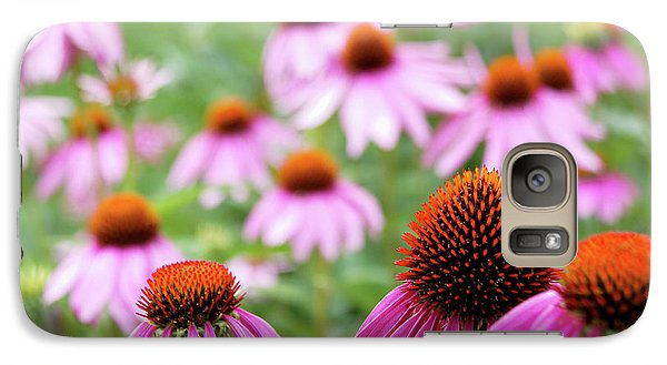 Galaxy Case featuring the photograph Coneflowers by David Chandler