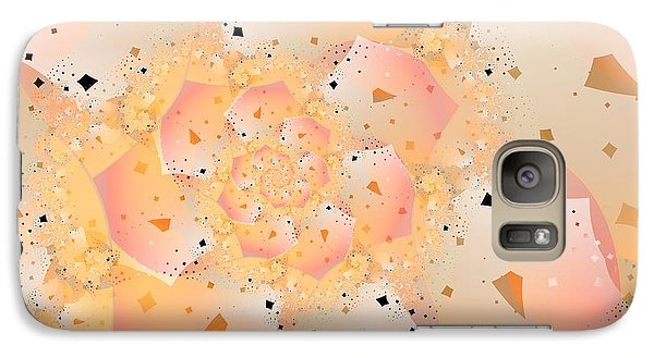 Galaxy Case featuring the digital art Confetti Pastel by Michelle H