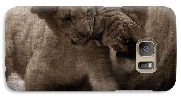 Galaxy Case featuring the photograph Confidence 2 by Christine Sponchia