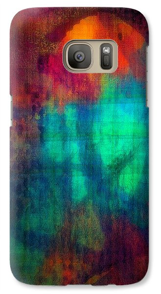 Galaxy Case featuring the painting Confidence by Mimulux patricia no No