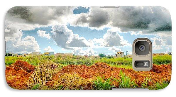 Galaxy Case featuring the photograph Confins by Beto Machado