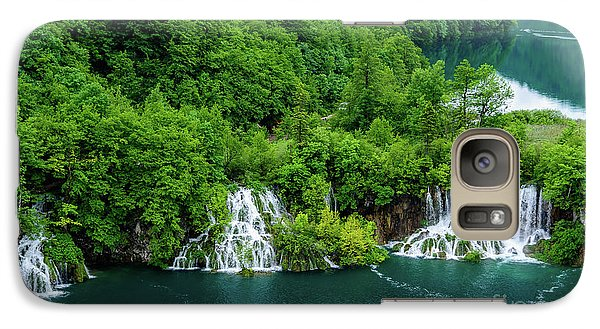 Connected By Waterfalls - Plitvice Lakes National Park, Croatia Galaxy S7 Case