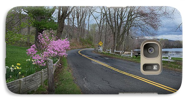 Galaxy Case featuring the photograph Connecticut Country Road by Bill Wakeley