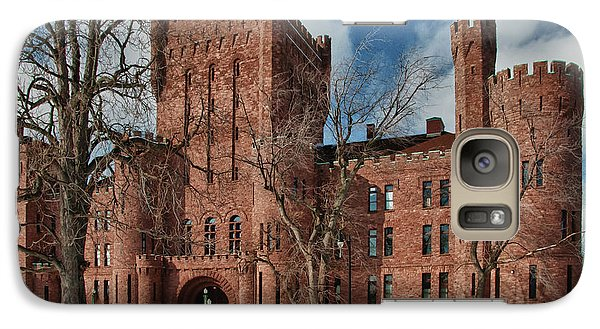 Galaxy Case featuring the photograph Connecticut Street Armory 3997a by Guy Whiteley