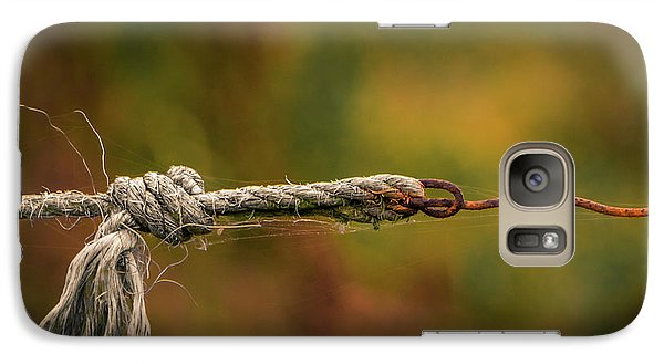 Galaxy Case featuring the photograph Connection by Odd Jeppesen