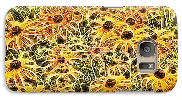 Galaxy Case featuring the digital art Connections by Dennis Lundell