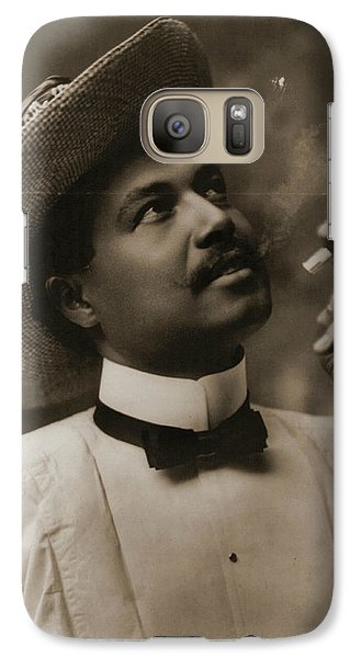 Galaxy Case featuring the photograph Connoisseur 1899 by Padre Art