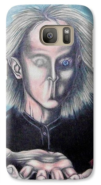 Galaxy Case featuring the drawing Consciousness by Michael  TMAD Finney