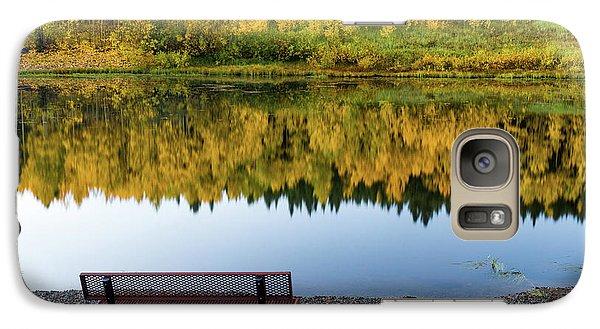Galaxy Case featuring the photograph Contemplating The Colors Of A Colorado Autumn by John De Bord