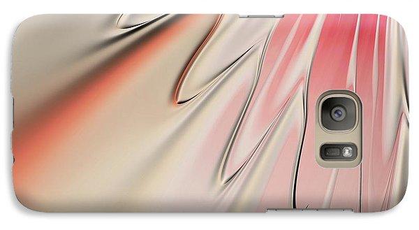 Galaxy Case featuring the digital art Contemporary Flower by Bonnie Bruno