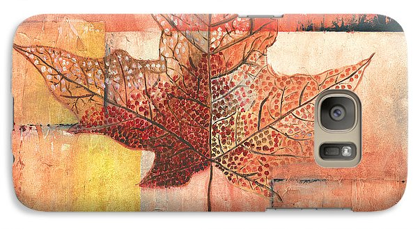 Contemporary Leaf 2 Galaxy Case by Debbie DeWitt