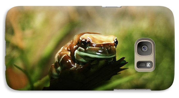 Galaxy Case featuring the photograph Content by Anthony Jones
