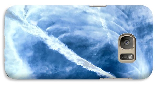 Contrail Concentricities Galaxy S7 Case
