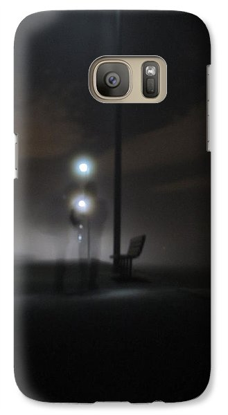 Galaxy Case featuring the photograph Conversation In The Mist by Digital Art Cafe