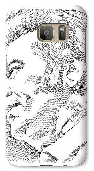 Rhythm And Blues Galaxy S7 Case - Conway Twitty by Greg Joens