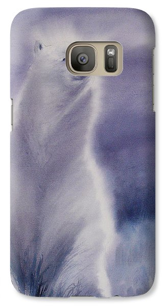 Galaxy Case featuring the painting Cool Bear by Allison Ashton