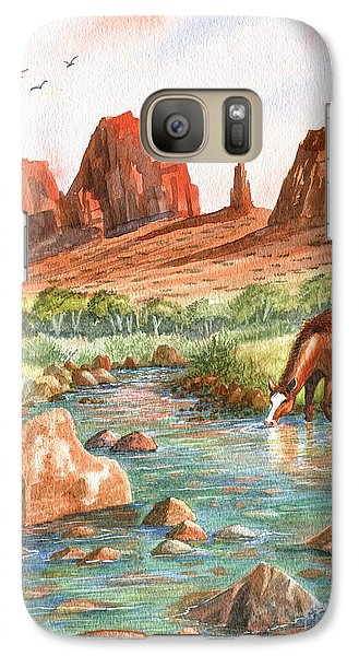 Galaxy Case featuring the painting Cool, Cool Water by Marilyn Smith