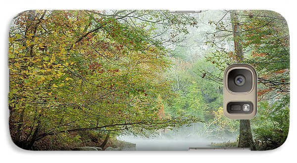 Galaxy Case featuring the photograph Cool Morning by Iris Greenwell
