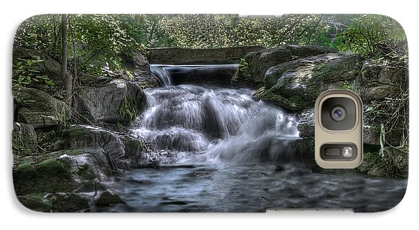 Galaxy Case featuring the photograph Cooling Waters  by Tamyra Ayles