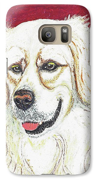 Galaxy Case featuring the painting Cooper II by Ania M Milo