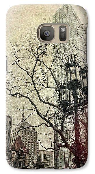 Galaxy Case featuring the photograph Copley Square - Boston by Joann Vitali