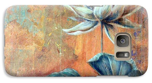 Copper Lotus Galaxy S7 Case