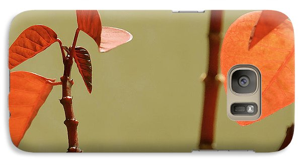 Galaxy Case featuring the photograph Copper Plant 2 by Ben and Raisa Gertsberg