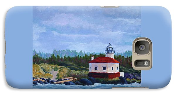 Galaxy Case featuring the painting Coquille Light by Nancy Jolley