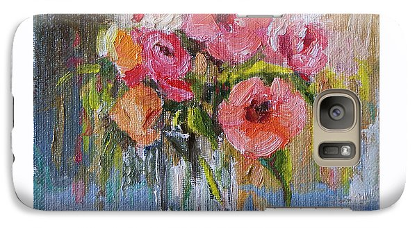 Galaxy Case featuring the painting Coral Bouquet by Jennifer Beaudet