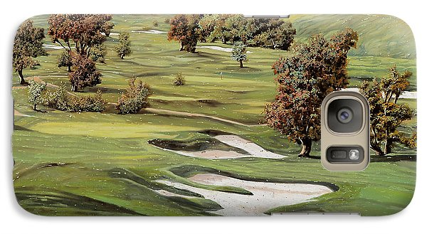 Sports Galaxy S7 Case - Cordevalle Golf Course by Guido Borelli
