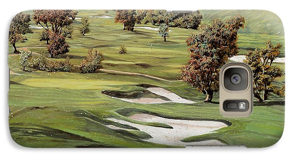 Cordevalle Golf Course Galaxy S7 Case by Guido Borelli