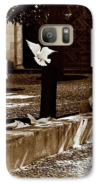 Galaxy Case featuring the photograph Cordoba Flight by Lorraine Devon Wilke